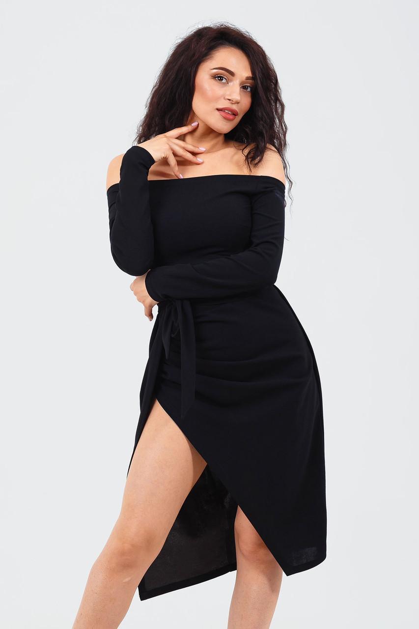 Вишукане веченее плаття Sharlin, чорний