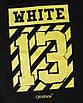 Свитшот мужской черный с желтым OFF-WHITE №13 Р-2 BLK S(Р) 19-503-201-001, фото 4