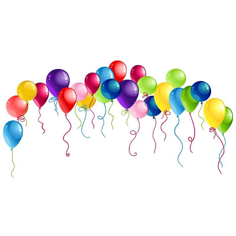 """Наліпка """"Повітряні кульки"""""""
