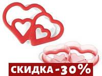 "Форма для печенья Silikomart ""сердце"" 14х9,6 см h2,5 см (ACC077/С)"