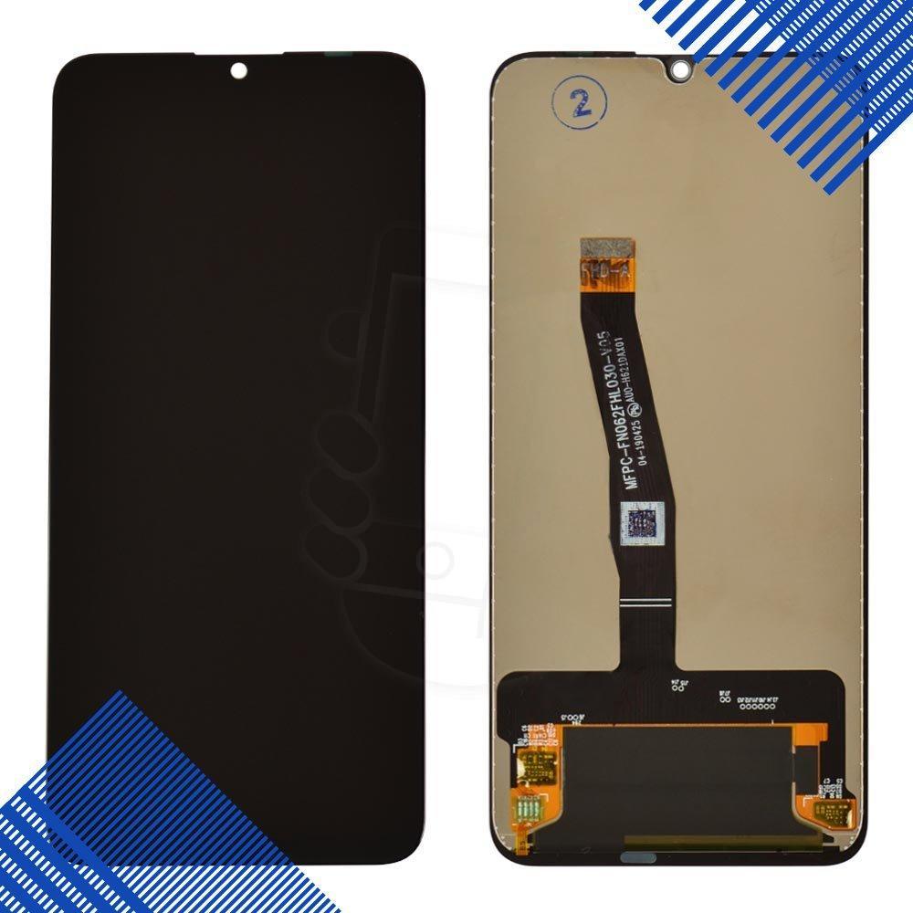 Дисплей для Huawei P Smart (2019) (POT-L21/POT-LX1) с тачскрином в сборе, цвет черный, копия высокого качества