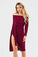 Изысканное веченее платье Sharlin, марсала