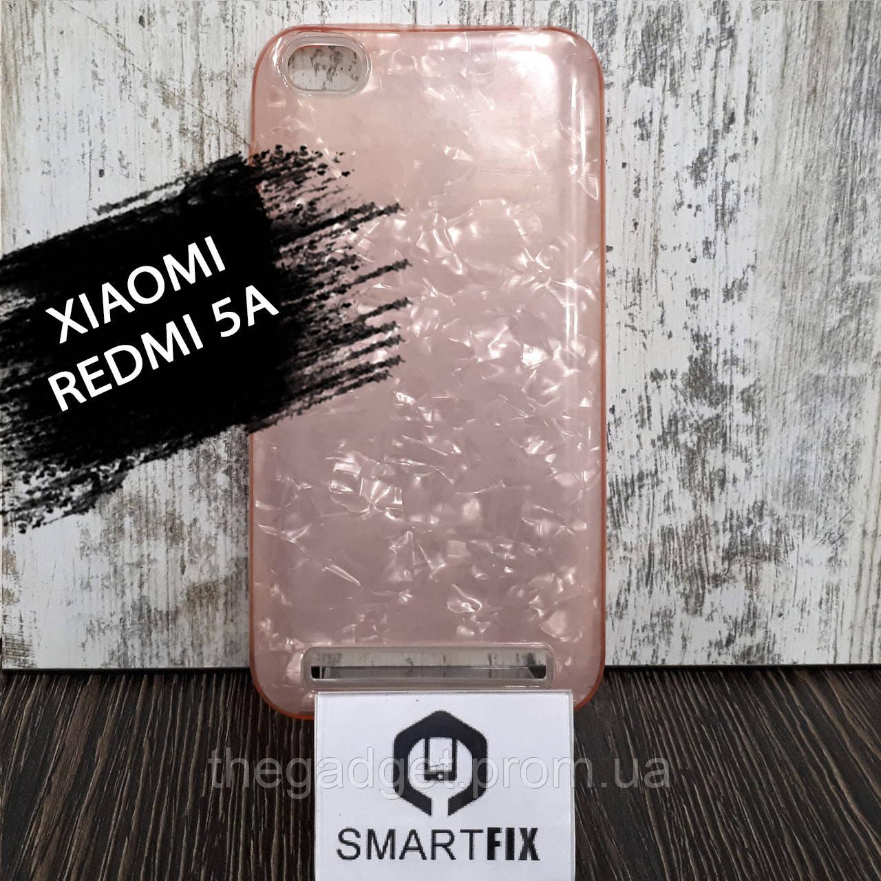 Силиконовый чехол для Xiaomi Redmi 5a Розовый