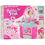 Детское трюмо, игрушка трюмо, туалетный столик детский 008-909, фото 2