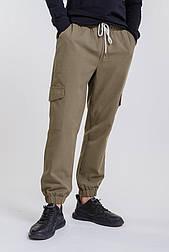 Мужские брюки-карго (Хаки)