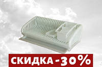 Сушилка для посуды на 24 тарелки 47,5х22 см h17,5 см пластик (SL К)