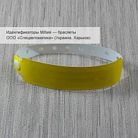 Mifare 1K 13.56 MHz — одноразовый электронный браслет с пластиковой клипсой, фото 1