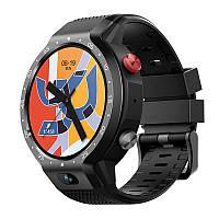 Умные часы Lemfo LEM9 с поддержкой 4G и двумя режимами использования (Черный)