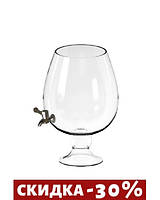 Диспенсер для напитков Mazhura 12л стекло (423292mz)