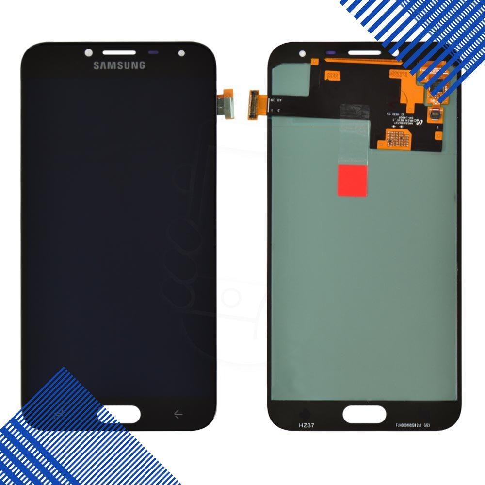 Дисплей для Samsung J400H/DS Galaxy J4 (2018) с тачскрином в сборе, цвет черный, Original Change Glass
