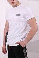 Футболка белая Quest Wear, фото 1