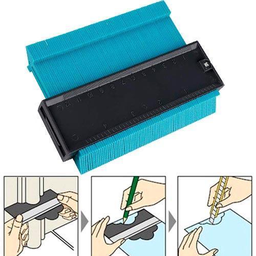 Шаблон для измерения очертаний 12см Контур для укладки ламината
