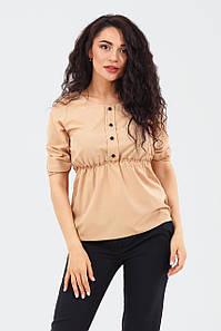 Стильна жіноча блузка Mary, бежевий