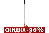 Щетка с телескопической ручкой Granchio 19х5 см h35 см (88854 GR)