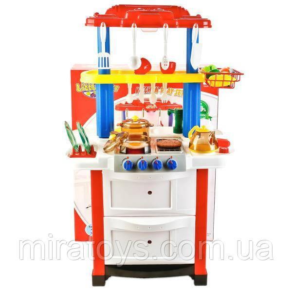 Детская кухня 768А/B Happy Little Chef с водой, 33 предмета, 83см, два цвета