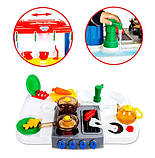 Детская кухня 768А/B Happy Little Chef с водой, 33 предмета, 83см, два цвета, фото 6