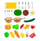 Детская кухня 768А/B Happy Little Chef с водой, 33 предмета, 83см, два цвета, фото 7