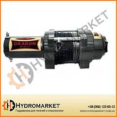 Лебедка для квадроцикла электрическая DWH 3500 HD synthetic Dragon Winch