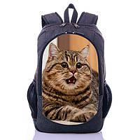 Рюкзак с принтом Кот Котик (G0014)