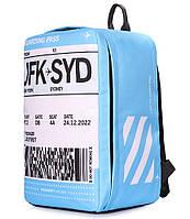 Рюкзак для ручной клади PoolParty HUB Boardingpass - Ryanair / Wizz Air / МАУ