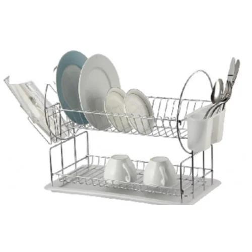 Сушка для посуды 2-ярусная Classic 84497 Tadar 42х23,5х36 см.