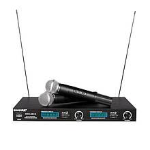 Радиосистема SHURE UHF LX 88 III 2 беспроводных микрофона