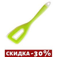 Лопатка кондитерская Maestro Green зеленая силикон (1183Green MR)