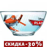 Салатник Luminarc Disney Planes 500мл d13 см h7 см ударопрочное стекло (0801J)