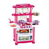Детская кухня 768А/B Happy Little Chef с водой, 33 предмета, 83см, два цвета, фото 4