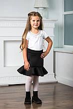 Школьная юбка для девочки Школьная форма для девочек BAEL Украины КОЛОКОЛЬЧИК черная