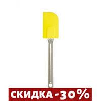 Лопатка кондитерская Silikomart  желтая длина 26 см силикон (ACC027Giallo)