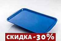 Поднос GastroPlast прямоугольный синий 41х31 см пластик (3141B)