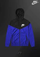 Ветровка Nike Windrunner Jacket (Черно-синий)