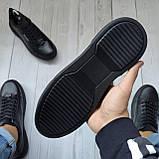 Чоловічі кеди Philipp Plein OS102 чорні, фото 3