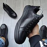 Чоловічі кеди Philipp Plein OS102 чорні, фото 4