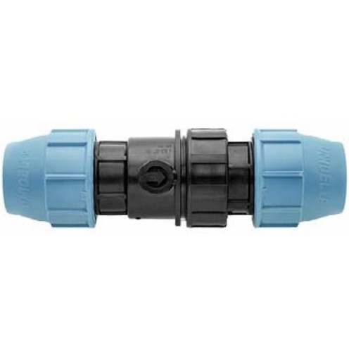 Обратный клапан д.32 зажимной Unidelta