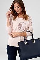Женская блуза розового цвета. Модель C05 Sunwear.