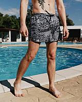 Плавки шорты мужcкие Пушка Огонь Storm черные, фото 1