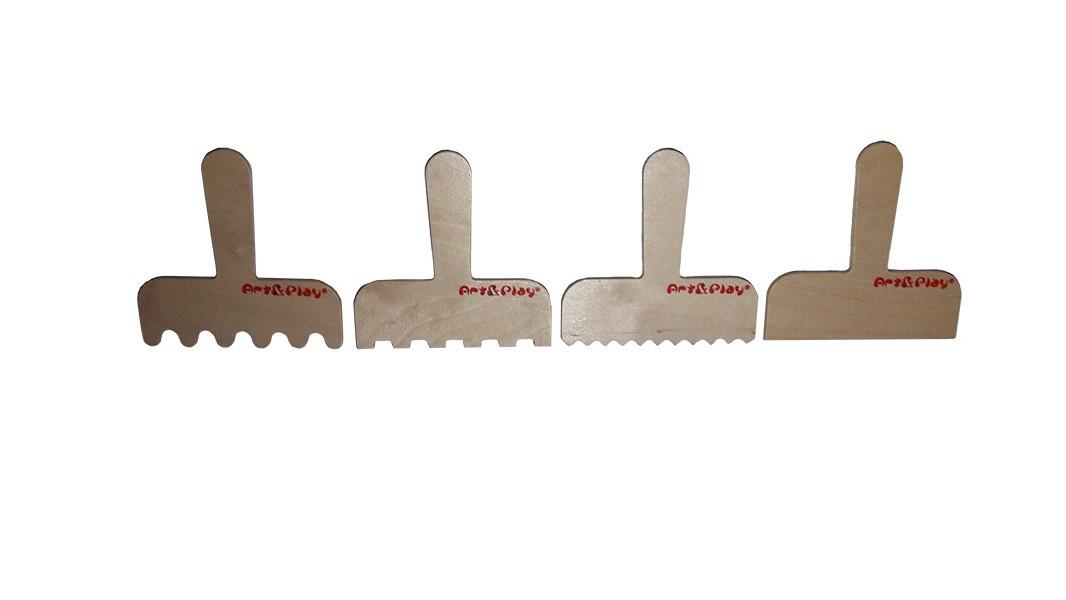 Навчальний набір для пісочниць Art&Play® Набір лопаток №1 з ергономічною ручкою