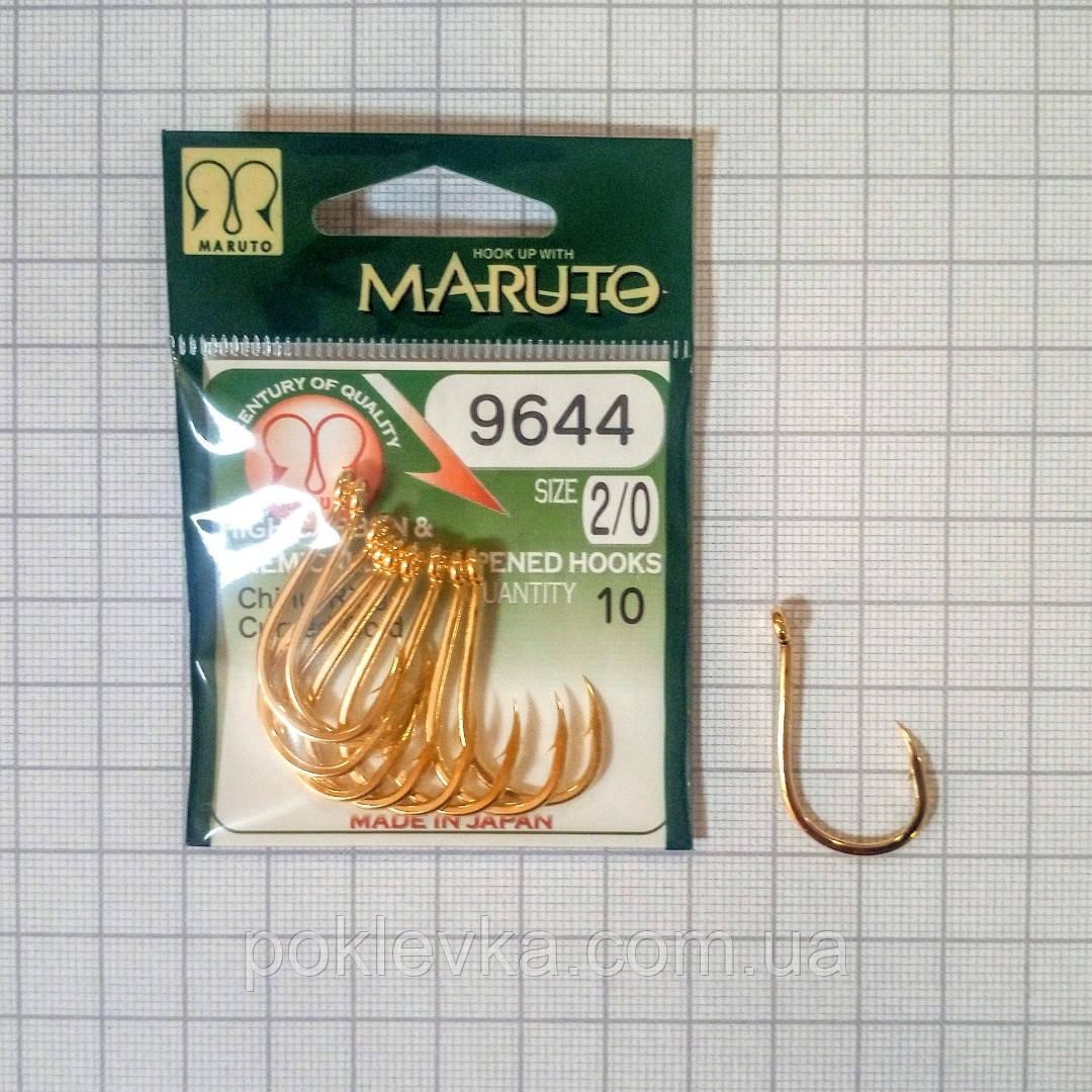 Крючок Maruto 9644 2/0 Gold 10шт