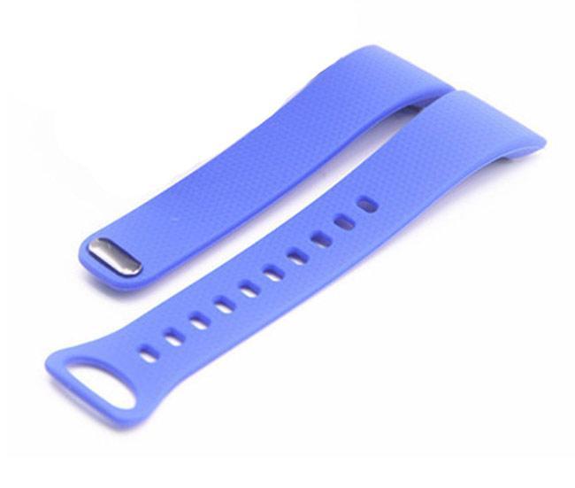 Силиконовый ремешок Primo для фитнес браслета Samsung Gear Fit 2 / Fit 2 Pro (SM-R360 / R365) - Sky Blue S