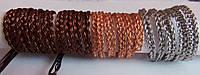Плетения для браслетов, колец, колье, поделок №6