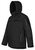 Тактическая куртка FORTECH черная для полиции