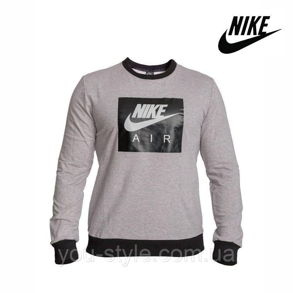 Мужской свитшот Nike серый