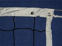 Сетка волейбольная с тросом .Трос:d-4 мм,шнур сетки d-2,5 мм