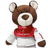 Медведь-автогонщик Audi Sport Teddy Bear, артикул 3201500100, фото 2