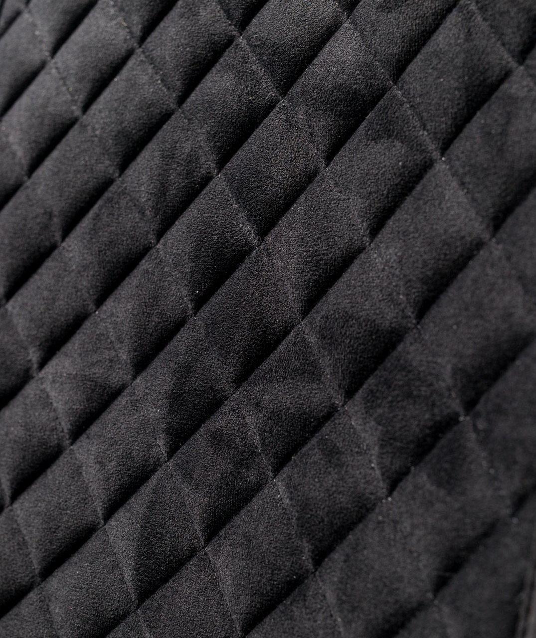 Накидки чехлы на сидения автомобиля из Алькантары Эко-замша задние универсальные защитные авточехлы Черные - фото 5