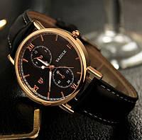 Стильные мужские наручные часы Yazole