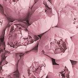 """Картина за номерами Art Craft """"Рожева ніжність"""" 40х40см 13103"""