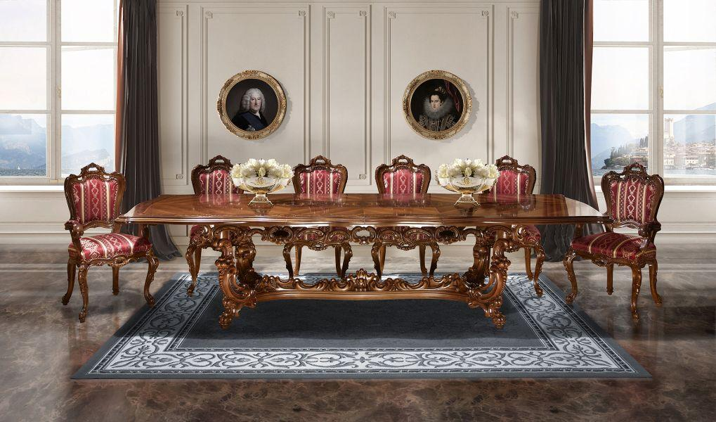 Стол раскладной Cleopatra Lux Simex Орех